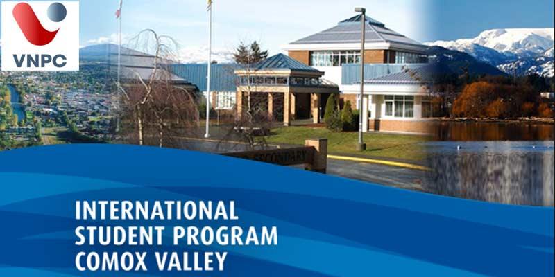 Du học Canada tại hệ thống trường trung học Comox Valley School District