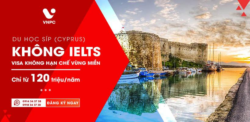Tháng vàng du học Châu Âu tại Cộng Hòa Síp không IELTS, không hạn chế vùng miền chỉ từ 120 triệu/Năm
