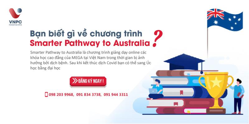 Học phí chương trình Smarter Pathway to Australia là bao nhiêu?