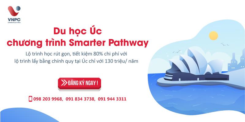 Du học Úc chương trình Smarter Pathway
