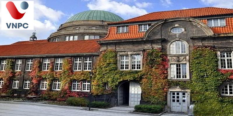 Sinh viên học Đại học Hamburg tại thành phố đẹp, nổi tiếng, thân thiện của Đức