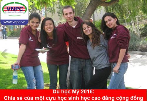 Du học Mỹ 2016: Chia sẻ của một cựu học sinh  học cao đẳng cộng đồng