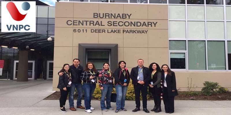 Du học Canada chương trình trung học tại trường Burnaby School District