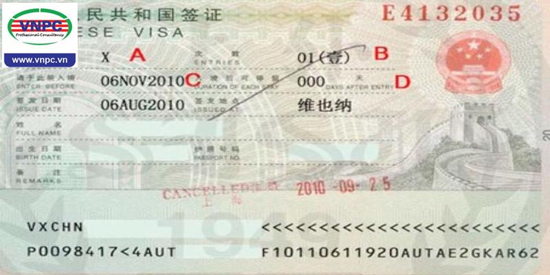 Du học Trung Quốc 2018 và những lưu ý về visa X1 và X2
