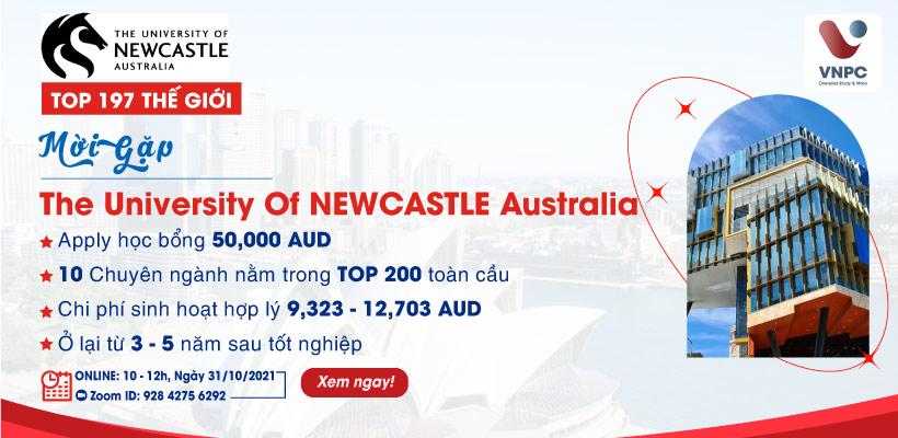 The University Of Newcaslte Australia: Phỏng vấn học bổng 50.000 AUD & Các ngành học hot nhất tại Úc
