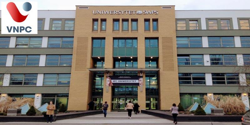 Học tại Đại học Khoa học xã hội và Nhân Văn SWPS với các nhóm ngành khoa học xã hội, kinh doanh chất lượng