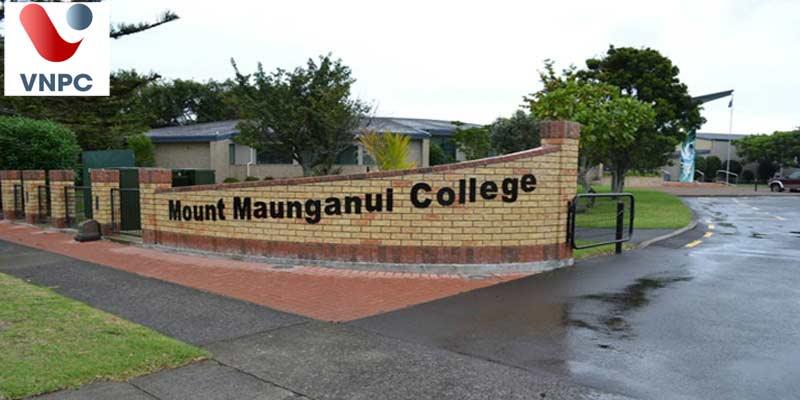 Du học trung học New Zealand cùng trường Mount Maunganui College