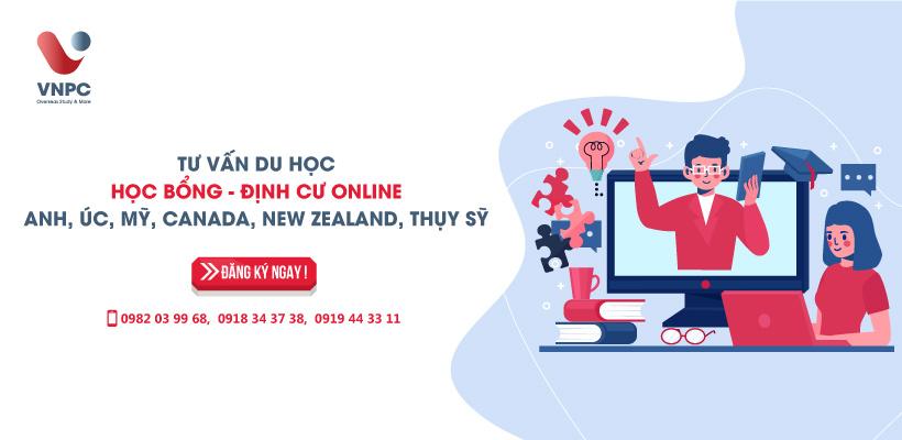 Tư vấn du học - Học bổng - Định cư online: Anh, Úc, Mỹ, Canada, New Zealand, Thụy Sỹ