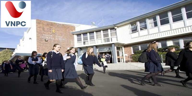 Du học New Zealand THPT tại trường Epsom Girls Grammar School