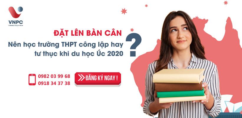 Đặt lên bàn cân: Nên học trường THPT công lập hay tư thục khi du học Úc 2020?