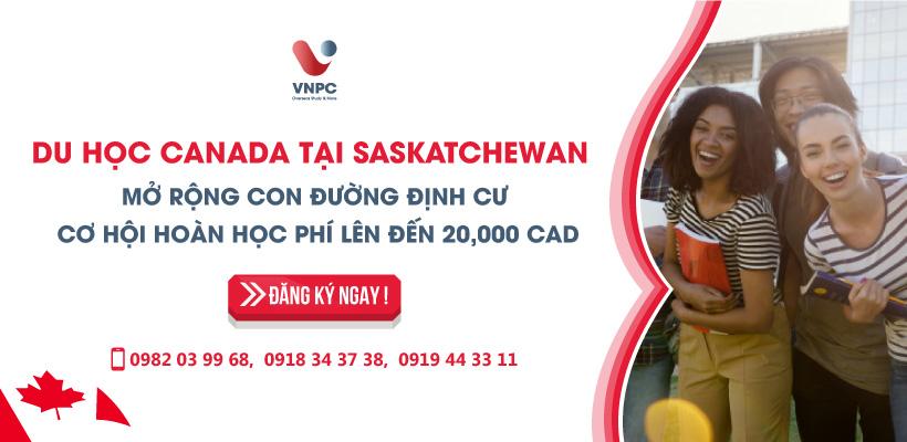 Du học Canada tại Saskatchewan mở rộng con đường định cư, cơ hội hoàn học phí lên đến 20.000 CAD