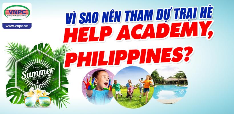 Vì sao nên tham dự trại hè HELP Academy, Philippines?