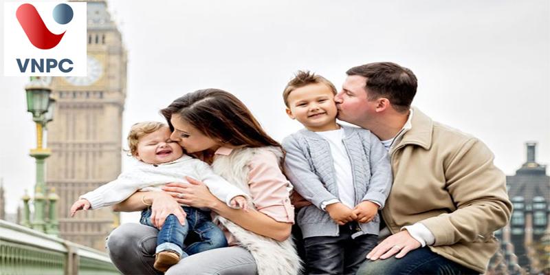 Điều kiện xin visa định cư Anh diện đoàn tụ gia đình
