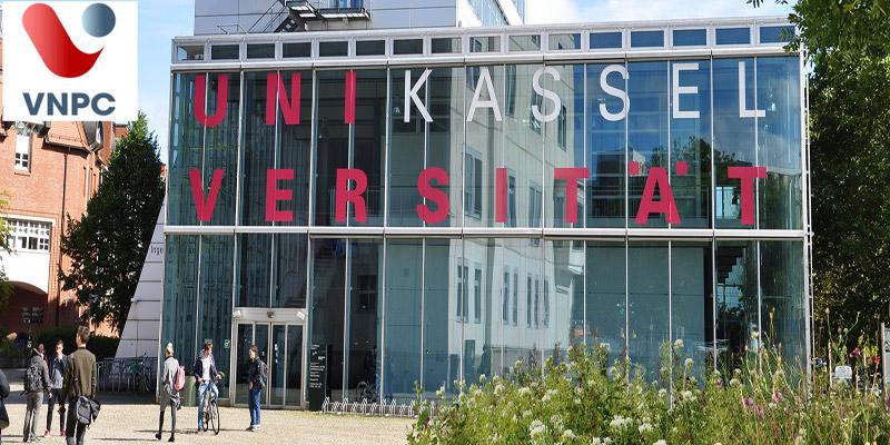 Học tập tại trường Kassel University trẻ tuổi, năng động của Đức