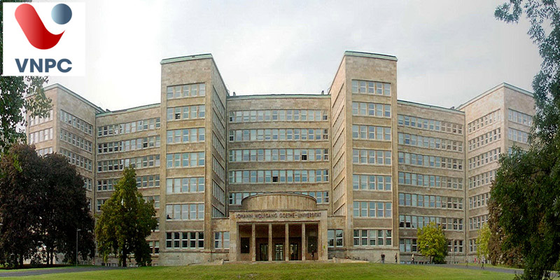 Ghi danh tại ngôi trường nổi tiếng của Đức, trường Đại học Goethe University Frankfurt