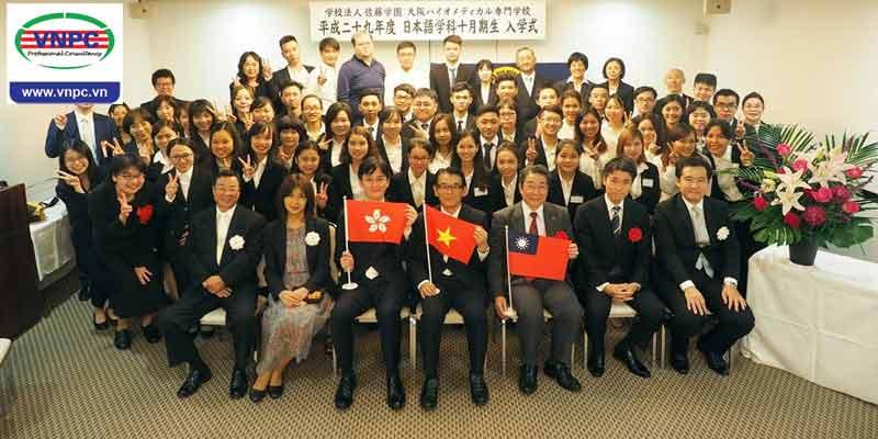 Du học tiếng Nhật vừa học vừa làm với học sinh bản ngữ tại OBM Osaka