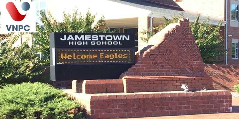 Du học Mỹ trung học tại trường Jamestown High School