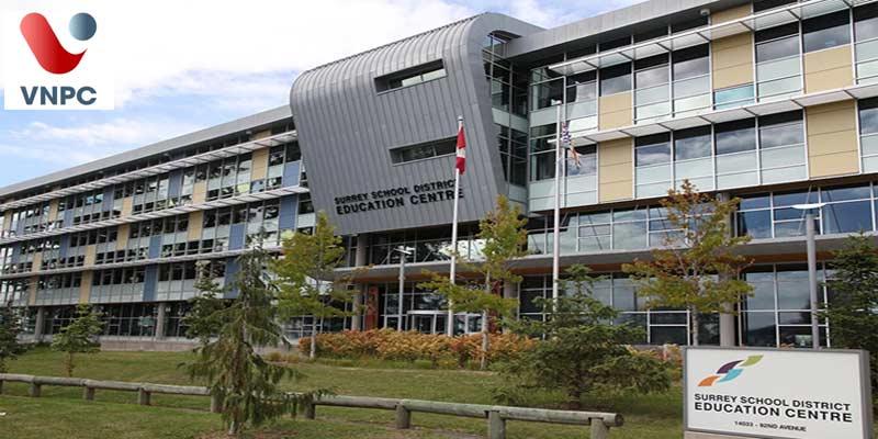 Du học Canada bậc trung học tại trường Surrey Board of Education District