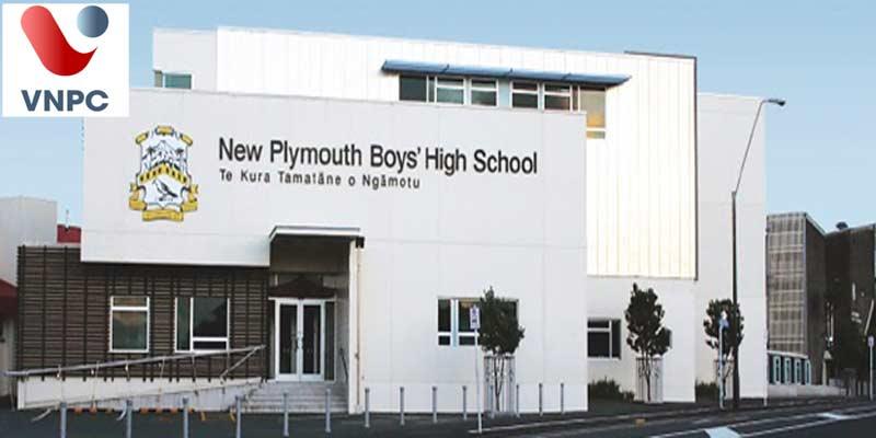 Du học New Zealand chương trình trung học tại New Plymouth Boys' High School
