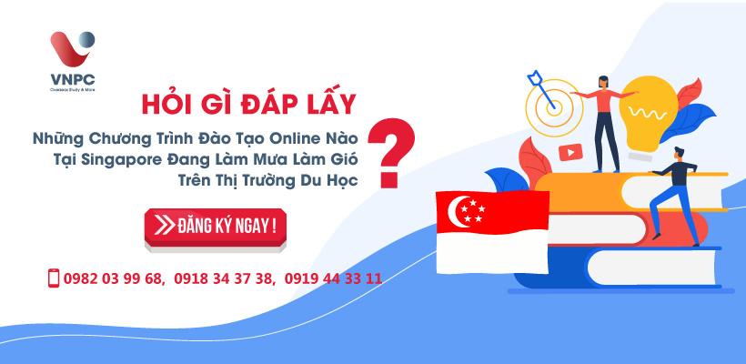 Hỏi gì đáp lấy: Những chương trình đào tạo Online nào tại Singapore đang làm mưa làm gió trên thị trường du học?