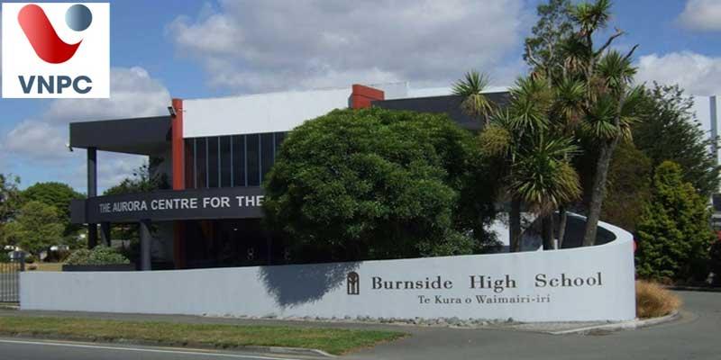 Du học New Zealand tại trường trung học Burnside High School
