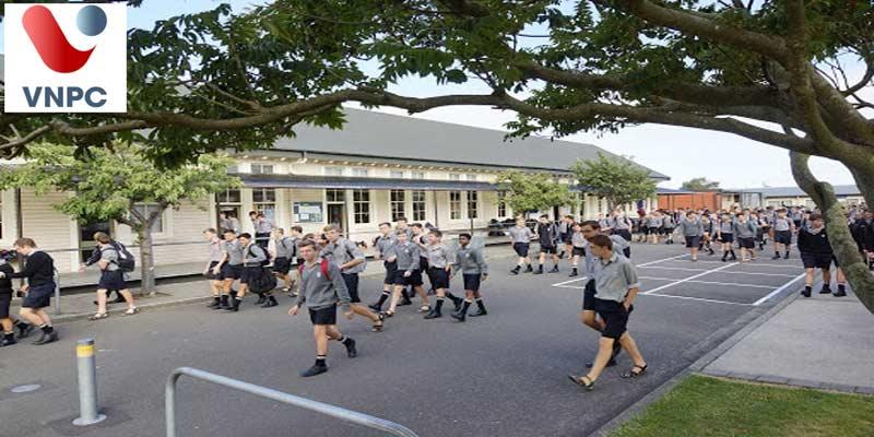 Du học New Zealand bậc trung học tại trường Palmerston North Boys' High School