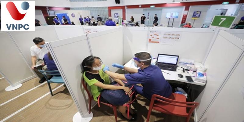 Du học sinh quốc tế có thể đăng ký tiêm chủng tại Singapore
