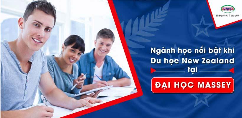 Ngành học nổi bật khi du học New Zealand tại đại học Massey