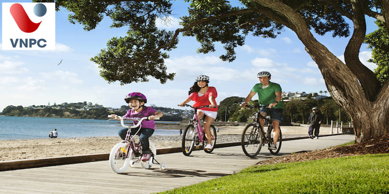 Bậc học nào tại New Zealand cho phép mang theo gia đình và con nhỏ cùng du học