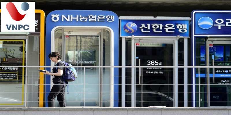Dịch vụ ngân hàng ở Hàn Quốc