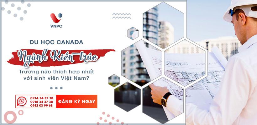 Du học Canada ngành Kiến trúc