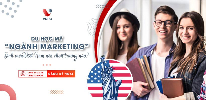 Du học Mỹ ngành Marketing