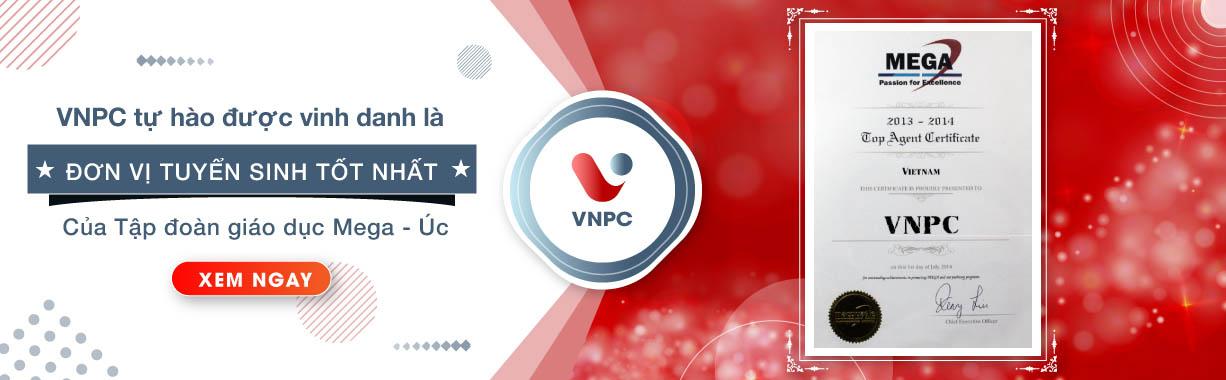 Tập đoàn giáo dục Mega Úc vinh danh VNPC là đơn vị tuyển sinh tốt nhất 2013