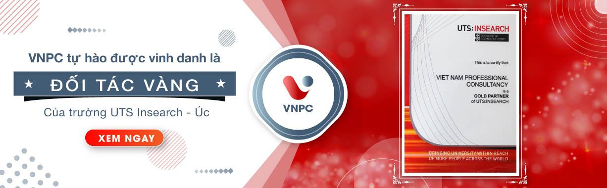 Trường UTS insearch, Úc vinh danh VNPC là Đối tác Vàng 2019