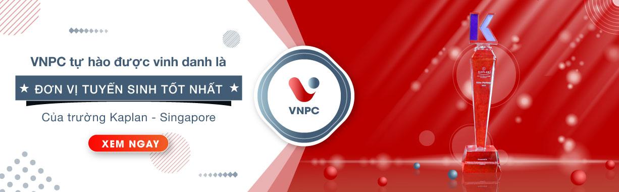 VNPC tự hào được viện Đại học Kaplan, Singapore vinh danh là đơn vị tuyển sinh tốt nhất 2019