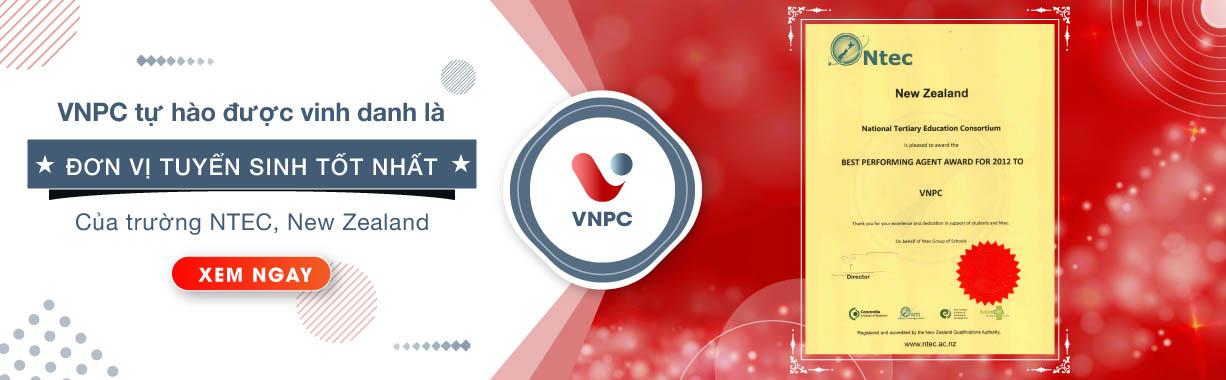 VNPC tự hào là đơn vị tuyển sinh tốt nhất của trường NTEC, New Zealand 2012