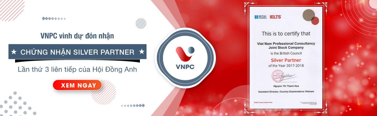 VNPC vinh dự đón nhận chứng nhận Silver Partner lần thứ 3
