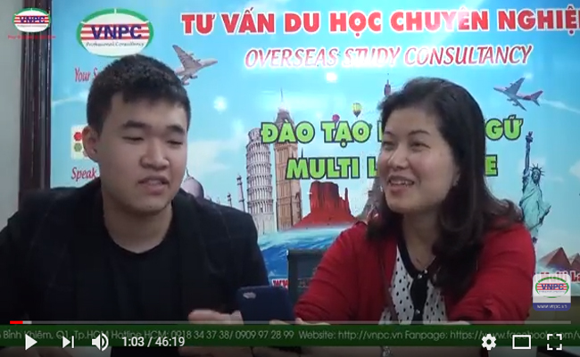 Video chia sẻ của Khánh Đặng – du học sinh Thụy Sỹ (HTMi)