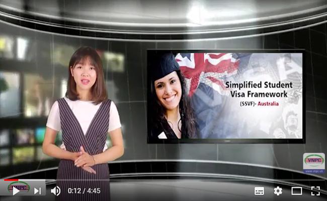 Video du học Úc 2017: Giải đáp chính sách Visa SSVF mới nhất