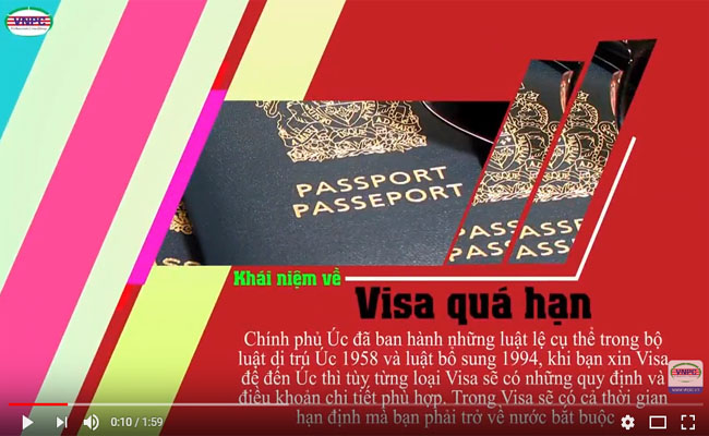 Du học Úc: Phương án khẩn cấp giải quyết khi Visa quá hạn tại Úc