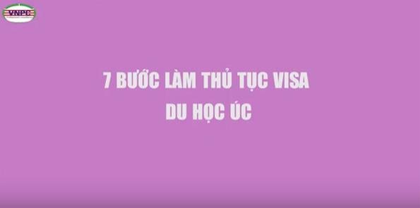 Du học Úc: 7 Bước làm Visa du học Úc 2017