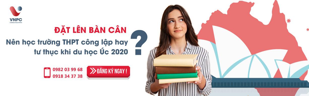 Đặt lên bàn cân: Nên học trường THPT công lập hay tư thục khi du học Úc năm 2020?