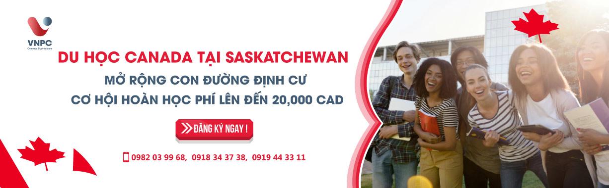 Du học Canada tại Saskatchewan mở rộng con đường định cư, cơ hội hoàn học phí lên đến 20.000 CAD tháng 6 năm 2020