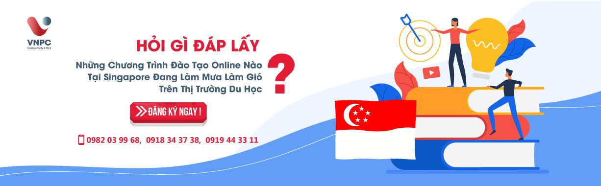 Hỏi gì đáp lấy: Những chương trình đào tạo Online nào tại Singapore 2020 đang làm mưa làm gió trên thị trường du học?