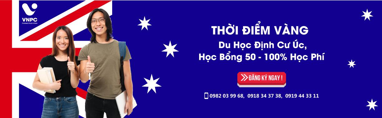 Thời điểm vàng du học định cư Úc 2020, học bổng 50 - 100% học phí