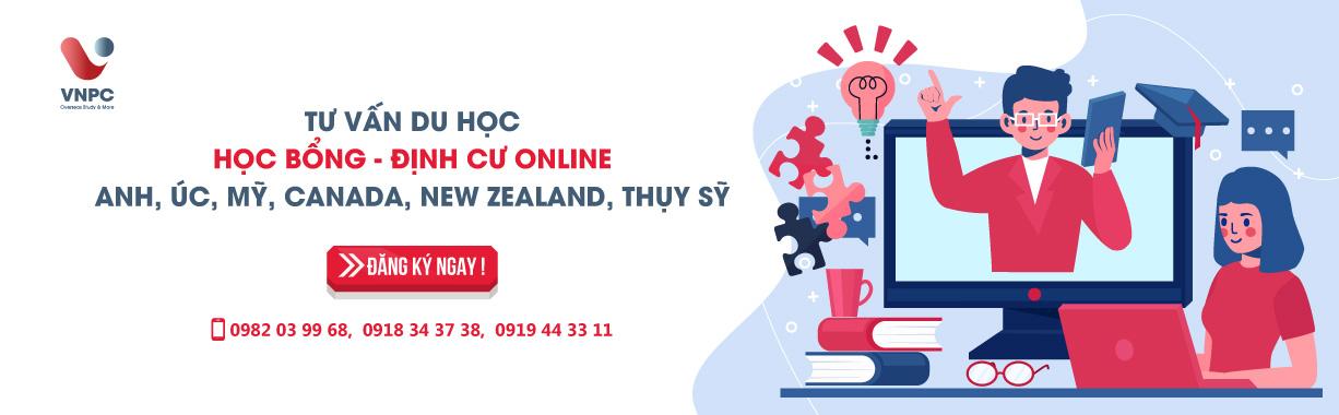 Tư vấn du học - Học bổng - Định cư online tháng 5/2020: Anh, Úc, Mỹ, Canada, New Zealand, Thụy Sỹ